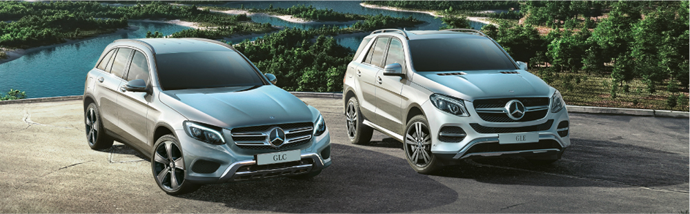 Mercedes-Benz GLC and GLE