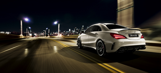 The Mercedes-AMG CLA 45 4MATIC Coupé