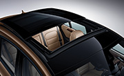 mercedes coupe feature - Panoramic Sliding Sunroof