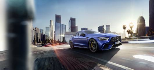 The new Mercedes-AMG GT 63 S 4MATIC+ 4-Door Coupé