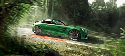 The Mercedes-AMG GT R