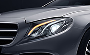 Mercedes E class features - LED high performance headlamps