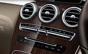 Mercedes GLC features - Thermatic 2 zone climate control