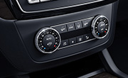 Mercedes GLS specs - Thermotronic automatic climate control