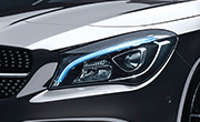 Mercedes benz cla 200 specs - LED high performance headlamps