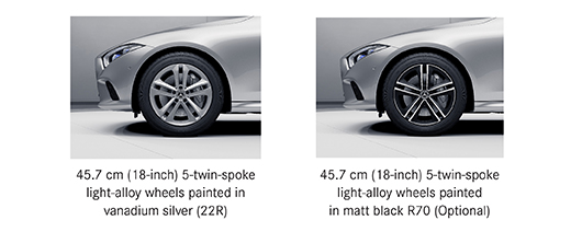 Alloy options for Mercedes CLS