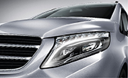 Mercedes Benz V class feature - LED Intelligent light system