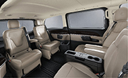 Mercedes Benz V class feature - Variable seating configuration